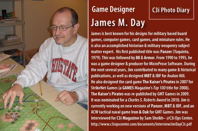 James M. Day James M Day Game Designer C3i Ops Center