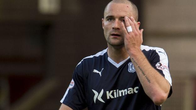 James McPake James McPake Dundee defender targets return in time for new term