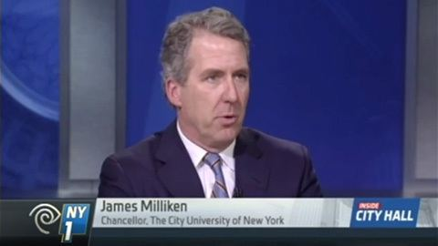 James Milliken Chancellor James B Milliken The City University of New York
