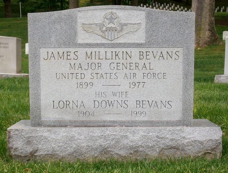 James Millikin Bevans MG James Millikin Bevans 1899 1977 Find A Grave Memorial