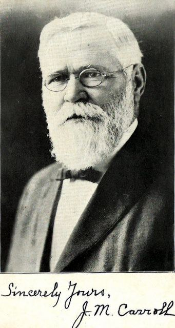 James Milton Carroll Dr James Milton Carroll 1852 1931 Find A Grave Memorial