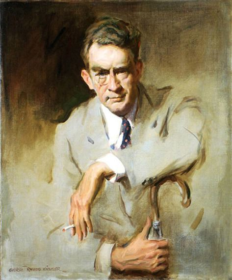 James Montgomery Flagg Artist and Studio James Montgomery Flagg 1956 by Everett