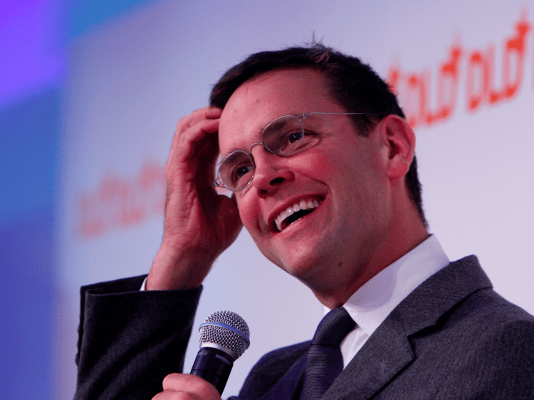 James Murdoch (singer) James Murdoch appointed chairman of Sky Business Insider