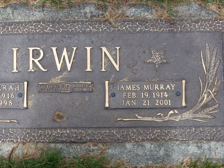 James Murray Irwin James Murray Irwin 1914 2001 Find A Grave Memorial