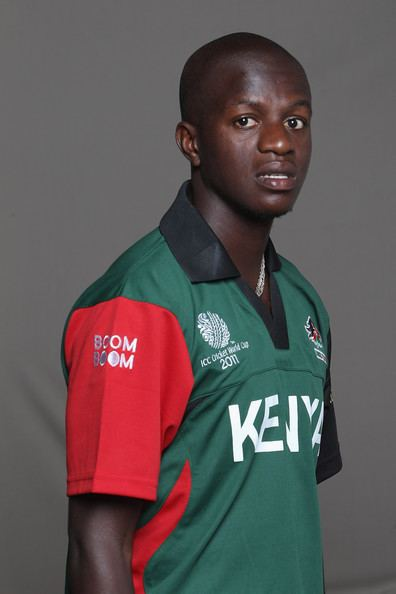 James Ngoche Photos Photos 2011 ICC World Cup Kenya Portrait
