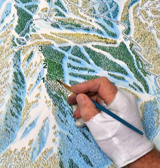 James Niehues Monet of the Mountain How a Ski Maps Painter Owns His Niche Market