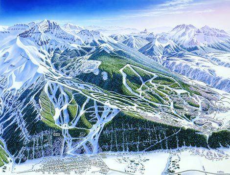 James Niehues James Niehues ski maps James Niehues Skiing Maps Pinterest