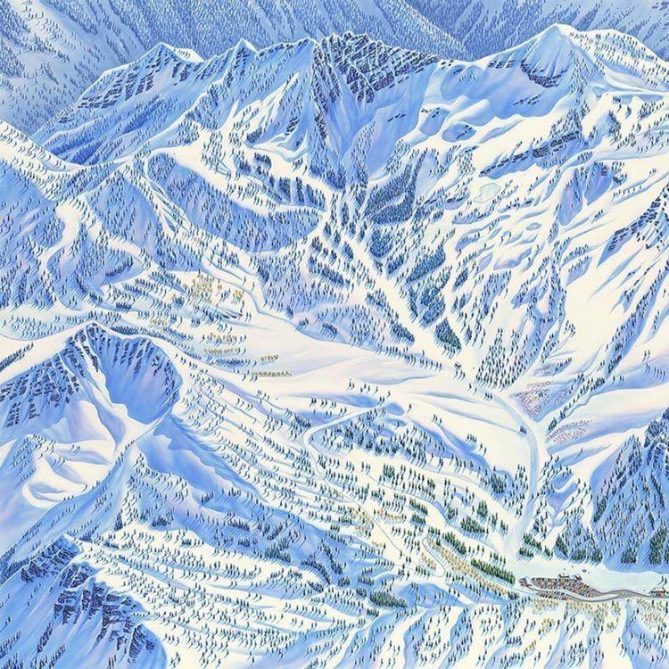 James Niehues Studio Visit Trail Map Artist James Niehues Cool Hunting