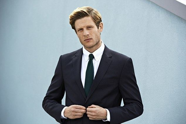 James Norton (actor) Happy Valley39s James Norton unrecognisable for MampS39 Style