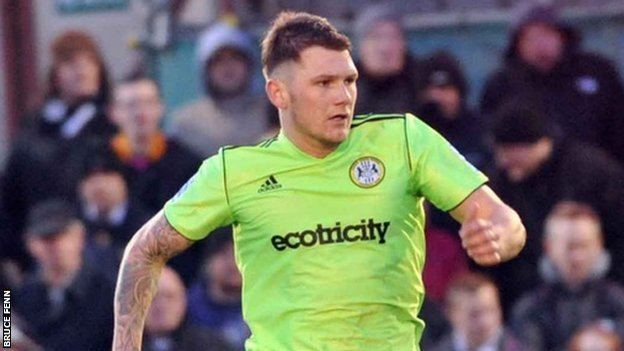 James Norwood BBC Sport James Norwood Forest Green striker signs two