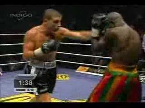 James Obede Toney LUCIAN BUTE vs JAMES OBEDE TONEY round 8 Sept 15th 2006 YouTube
