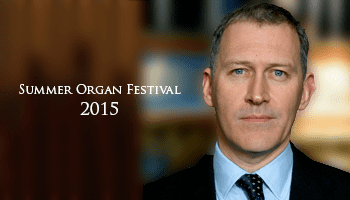 James O'Donnell (organist) Westminster Abbey Summer Organ Festival James O39Donnell