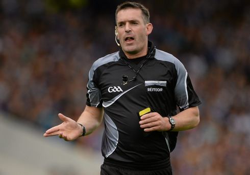 James Owens (referee) James Owens realises lifetime goal to be named AllIreland hurling
