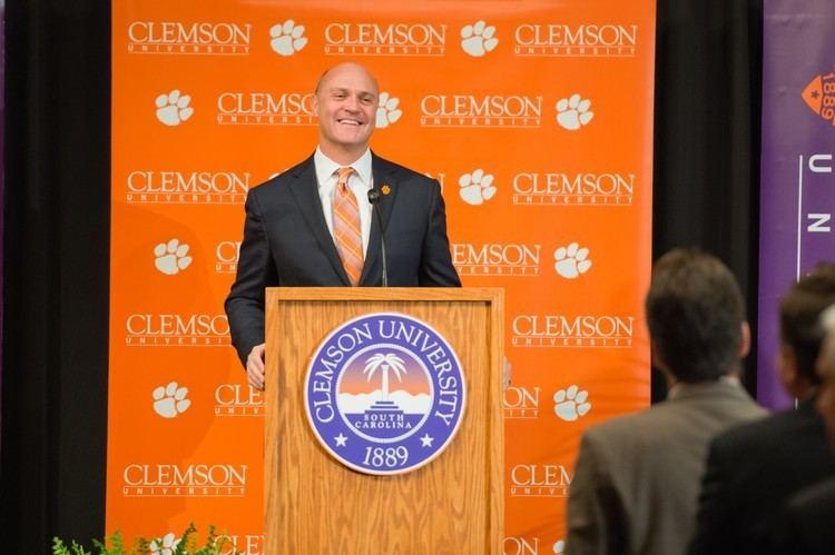 James P. Clements James P Clements named president of Clemson Clemson University