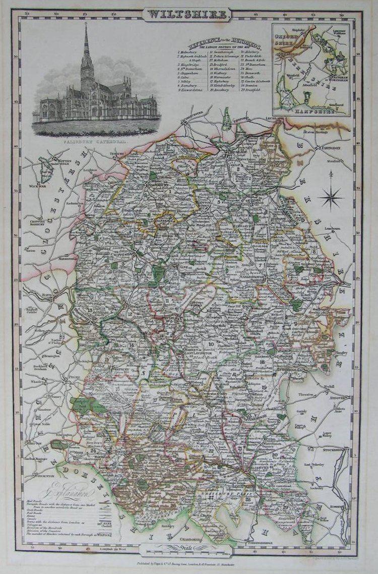 James Pigot James Pigot County Maps