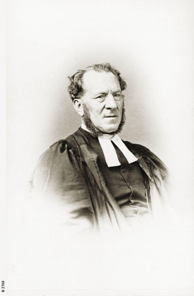 James Pollitt Rev James Pollitt Photograph State Library of South Australia
