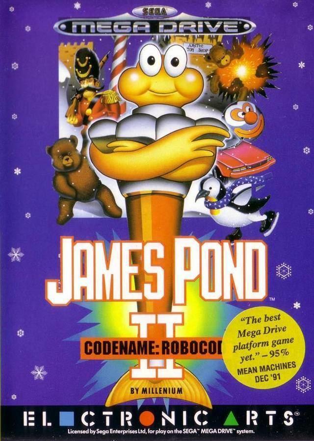 James Pond 2 James Pond II Codename Robocod Box Shot for Genesis GameFAQs