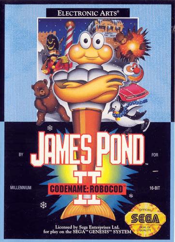 James Pond 2 Play James Pond 2 Codename Robocod Sega Genesis online Play