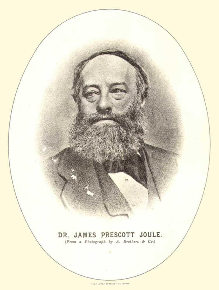 James Prescott Joule Manchester Worthies James Prescott Joule