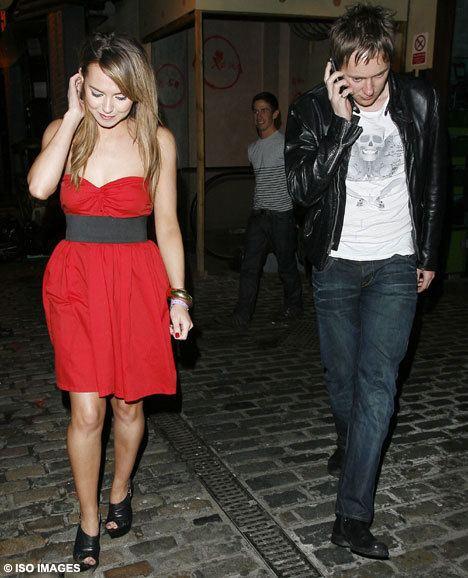 James Redmond (actor) EastEnders actress Kara Tointon looks a little worse for