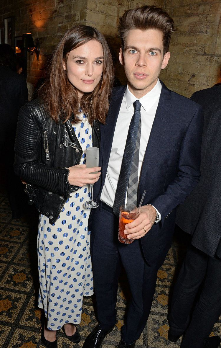 James Righton Keira Knightley and James Righton attended the bash