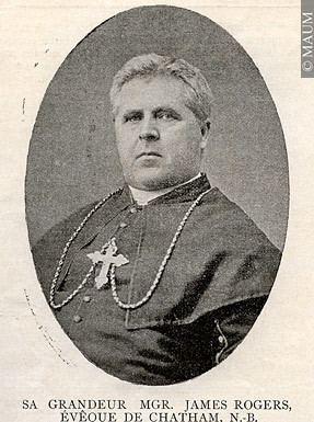 James Rogers (bishop) XX1706 His Eminence Monsignor James Rogers bishop of Chatham