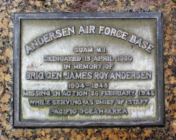 James Roy Andersen Gen James Roy Andersen 1904 1945 Find A Grave Memorial