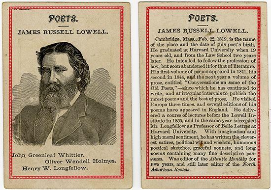 James Russell Lowell james russell lowell life poem vatler