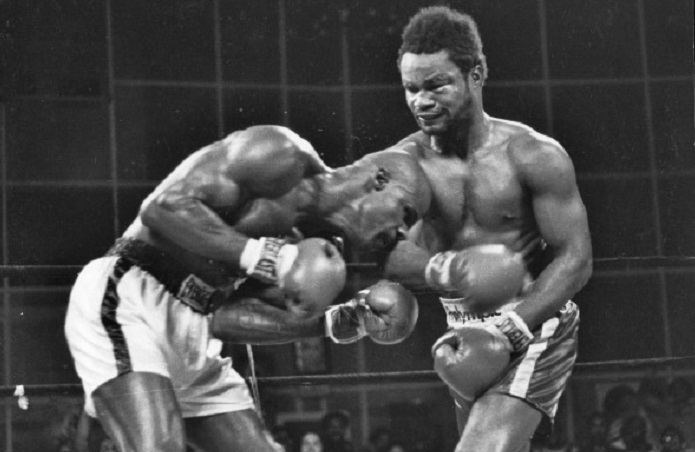 James Scott (boxer) Oct 12 1978 James Scott vs Eddie Gregory at Rahway State