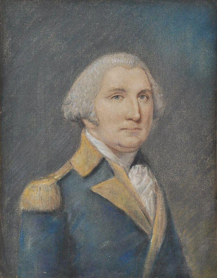 James Sharples A Pastel Portrait of George Washington After James Sharples 0520