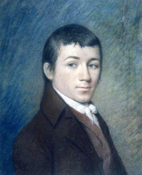 James Sharples Joseph Priestley AMERICAN GALLERY 19th Century