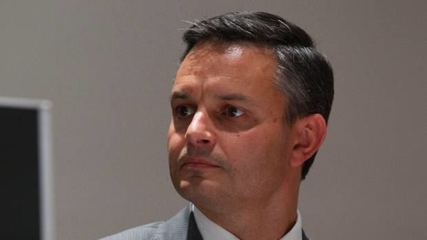 James Shaw (New Zealand politician) Green Party gambles on James Shaw Stuffconz