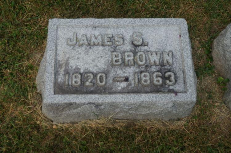James Smedley Brown James Smedley Brown 1819 1863 Find A Grave Memorial