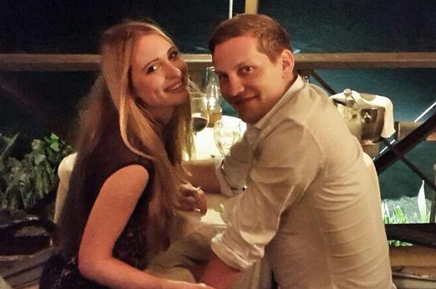 James Sutton (actor) Hollyoaks actor James Sutton engaged to girlfriend Kit Williams