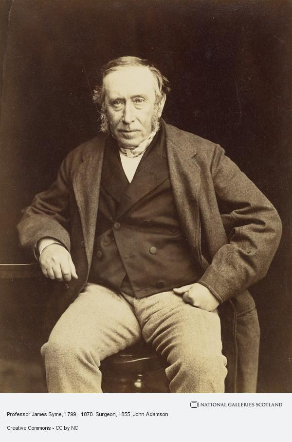 James Syme (priest) Professor James Syme 17991870 Surgeon National Galleries of