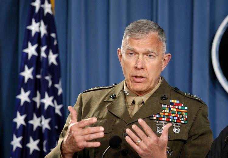 James T. Conway Lt Gen James T Conway US Marine Corps answers a
