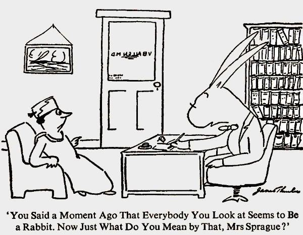 James Thurber James Thurber Cartoons Clearly Bloodhounds in this cartoon