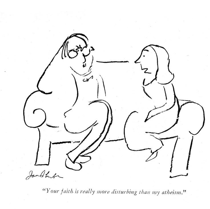James Thurber James Thurbers last original cartoon as he was going blind THAT