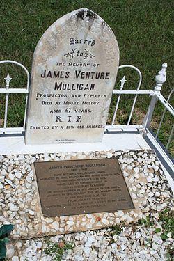 James Venture Mulligan's Grave httpsuploadwikimediaorgwikipediacommonsthu
