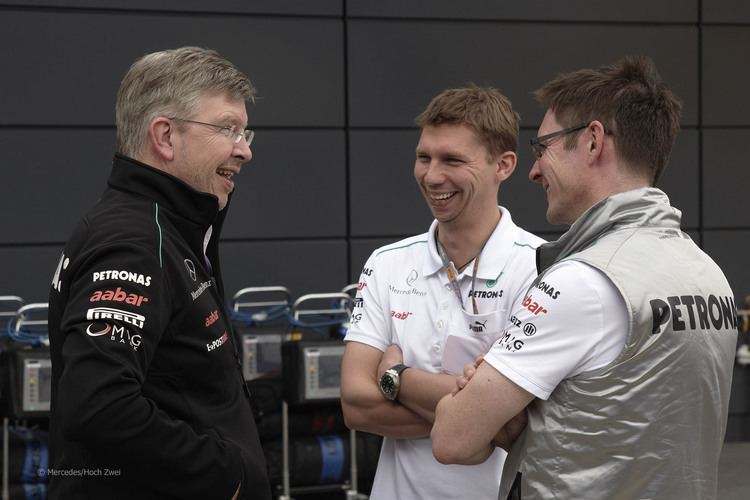 James Vowles Ross Brawn James Vowles Andrew Shovlin Mercedes Silverstone