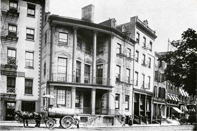 James Watson House Daytonian in Manhattan 7 State Street The James B Watson