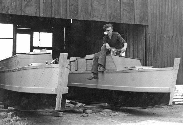 James Wharram Eric de Bisschop and James Wharram Catamaran pioneers