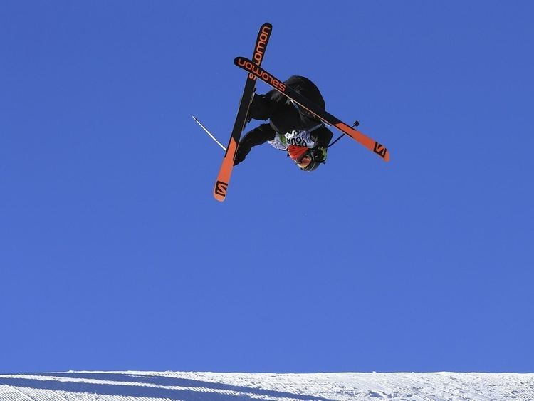 James Woods (freestyle skier) Sport picture of the day a freestyle skier and his shadow