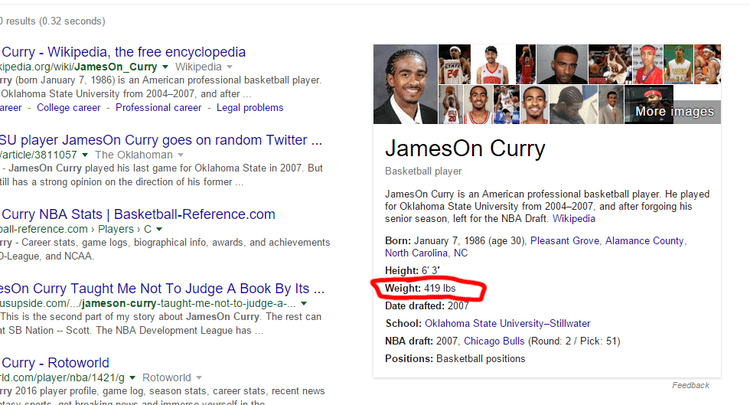 JamesOn Curry Random Fact Of The Day JamesOn Curry the 51st overall pick in the