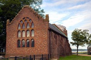 Jamestown Church Memorial Church Historic Jamestowne