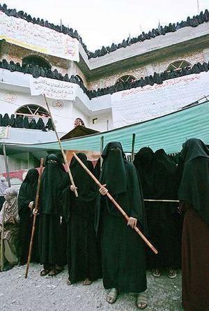 Jamia Hafsa Tacit Government Support Behind Jamia Hafsa Iman Hasan