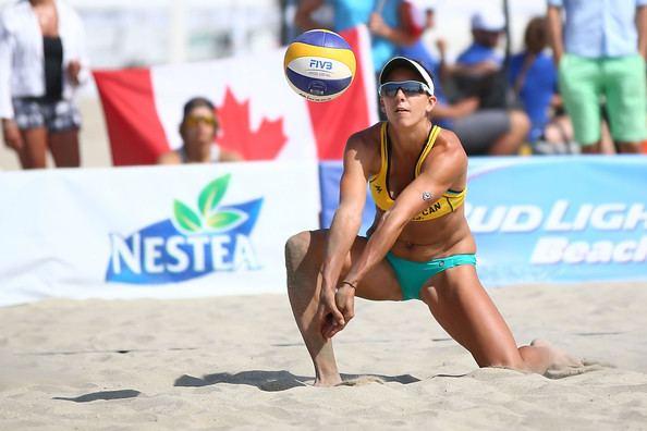 Jamie Broder Jamie Broder Photos Photos ASICS World Series of Beach Volleyball
