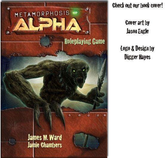 Jamie Chambers Metamorphosis Alpha Roleplaying Game by Jamie Chambers Kickstarter