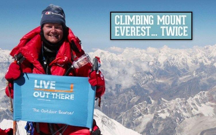 Jamie Clarke (adventurer) Jamie Clarke Climbing Mt Everest Canadian Adventurer