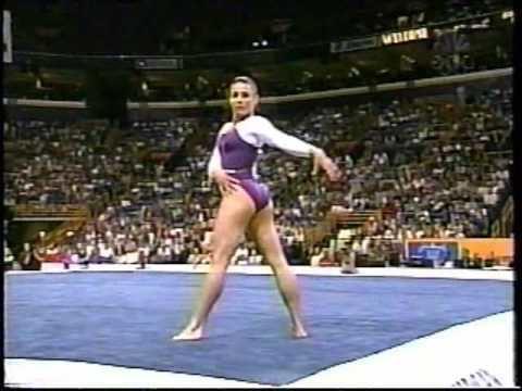 Jamie Dantzscher Jamie Dantzscher 2000 US Nationals Finals Floor
